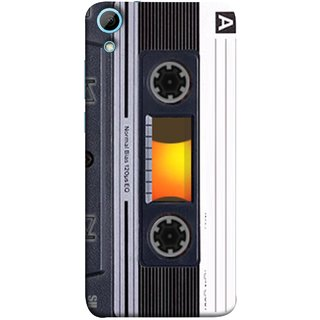 FUSON Designer Back Case Cover For HTC Desire 830 :: HTC Desire 830 Dual Sim (Menu Playlist Pause Fast Forward Backwards Black )