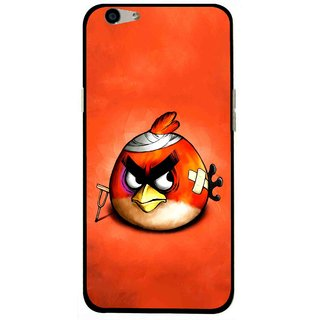 Snooky Printed Wouded Bird Mobile Back Cover For Oppo F1s - Multi