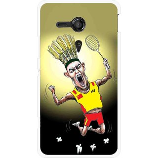 Snooky Printed Adivasi Sports Mobile Back Cover For Sony Xperia SP - Multicolour