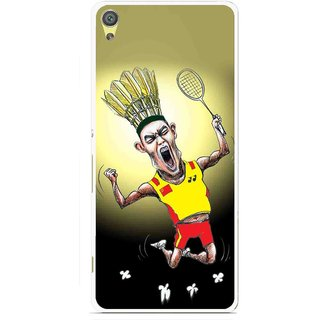 Snooky Printed Adivasi Sports Mobile Back Cover For Sony Xperia XA - Multicolour