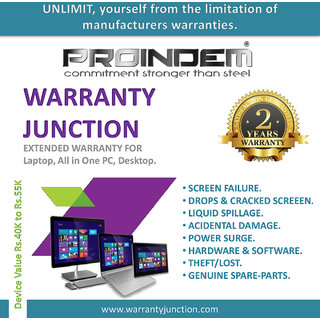 PROINDEM LAPTOP/DESKTOP/ALL IN ONE PC Protection Plan (Device value 40000Rs. to 54900Rs.)