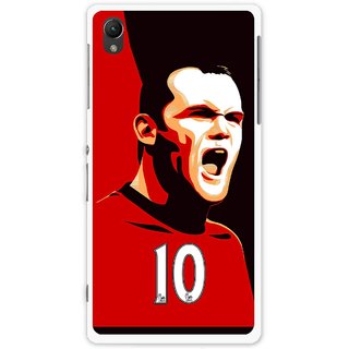 Snooky Printed Sports ManShip Mobile Back Cover For Sony Xperia Z1 - Multi
