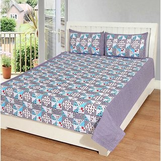 k decor 100 percent cotton besheet (SAN-023)