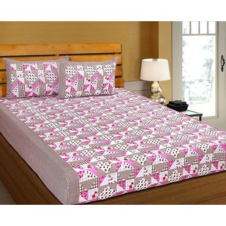 k decor 100 percent cotton besheet (SAN-024)