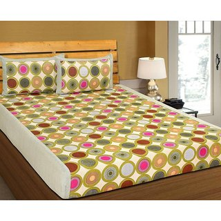 k decor 100 percent cotton besheet (SAN-026)