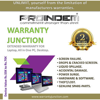 PROINDEM LAPTOP/DESKTOP/ALL IN ONE PC 2 years Protection Plan (Device value 55000Rs. to 69900Rs.)
