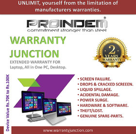 PROINDEM LAPTOP/DESKTOP/ALL IN ONE PC 2 years Protection Plan (Device value 70000Rs. to 99900Rs.)