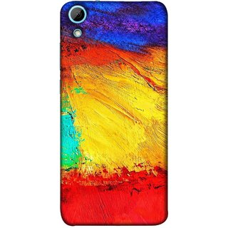 FUSON Designer Back Case Cover For HTC Desire 628 :: HTC Desire 628 Dual Sim  (Colour Canvas For Hall Bedroom Painting Intresting Lot)