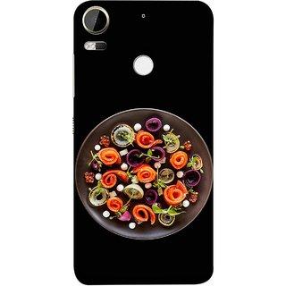 FUSON Designer Back Case Cover For HTC Desire 10 Pro (Vegetables Mashrooms Kitchen Best Food Tasty)