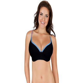 d4393dbb59c15 Buy Velvet Dreams Women s Black Padded Bra Online - Get 35% Off