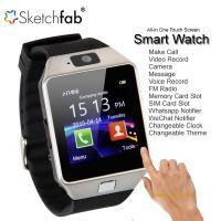CP Bigbasket Bluetooth Smart Watch Wrist Watch Phone with Camera  SIM Card Support - Silver