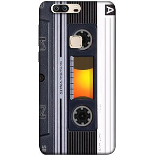 FUSON Designer Back Case Cover For Huawei Honor V8 (Menu Playlist Pause Fast Forward Backwards Black )