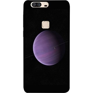 FUSON Designer Back Case Cover For Huawei Honor V8 (Rings In Space Zoom Into Beautiful Planet And Stars)