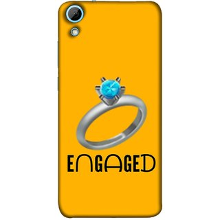 FUSON Designer Back Case Cover For HTC Desire 628 :: HTC Desire 628 Dual Sim  (Couple Marriage Engegement Ring With Beautiful Diamond)