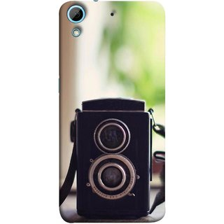 FUSON Designer Back Case Cover For HTC Desire 728 Dual Sim :: HTC Desire 728G Dual Sim (Antique & Vintage Cameras Make Great Deco)