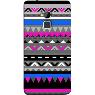 FUSON Designer Back Case Cover For HTC One Max :: HTC One Max Dual SIM (Tribal Patterns Colourful Eye Catching Verity Different )