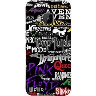FUSON Designer Back Case Cover For HTC One M9 :: HTC One M9S :: HTC M9 (Deep Purple Ramones Beck Slipknot Pink Floyd )