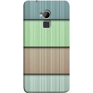 FUSON Designer Back Case Cover For HTC One Max :: HTC One Max Dual SIM (Strips Green Gray Sunmica Plywood Back Art)