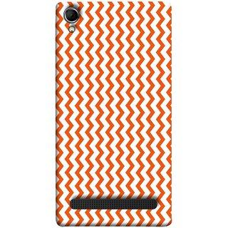 FUSON Designer Back Case Cover For Intex Aqua Power Plus :: Intex Aqua Power + (Red Glittering Foil Seamless Pattern Background)