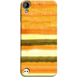 FUSON Designer Back Case Cover For HTC Desire 530 (Abstract Border Frame With Vintage Background )