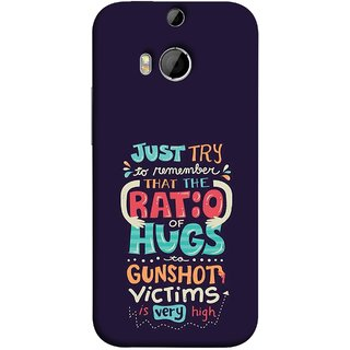 FUSON Designer Back Case Cover For HTC One M9 Plus :: HTC One M9+ :: HTC One M9+ Supreme Camera (To Gunshots Victims Is Very High Upwords Kisses )