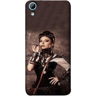FUSON Designer Back Case Cover For HTC Desire 728 Dual Sim :: HTC Desire 728G Dual Sim (Mad Men Beauty Moments Betty Draper Smoking )