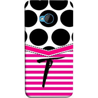 FUSON Designer Back Case Cover For HTC M7 :: HTC One M7 (Beautiful Cute Nice Couples Pink Design Paper Girly T)