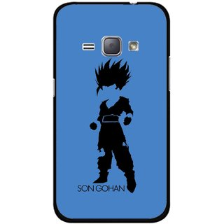 Snooky Printed Son Gohan Mobile Back Cover For Samsung Galaxy J1 - Multicolour