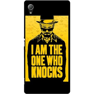 Snooky Printed Who Knocks Mobile Back Cover For Sony Xperia Z3 Plus - Multi