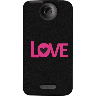 FUSON Designer Back Case Cover For HTC One X :: HTC One X+ :: HTC One X Plus :: HTC One XT (Love Life Forever Hearts Real Love True Lovers Valentine)