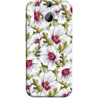 FUSON Designer Back Case Cover For HTC One M9 Plus :: HTC One M9+ :: HTC One M9+ Supreme Camera (Floral Patterns Digital Textiles Florals Design Patterns)