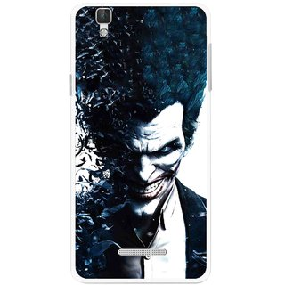 Snooky Printed Freaking Joker Mobile Back Cover For Micromax Yu Yureka Plus - Multi