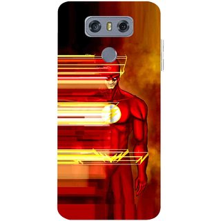 Snooky Printed Electric Man Mobile Back Cover For LG G6 - Multicolour
