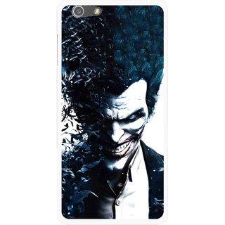 Snooky Printed Freaking Joker Mobile Back Cover For Oppo R1 - Multi