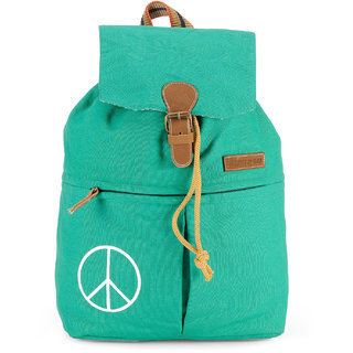 The House of Tara Canvas Backpack (Winter Green) HTBP 125