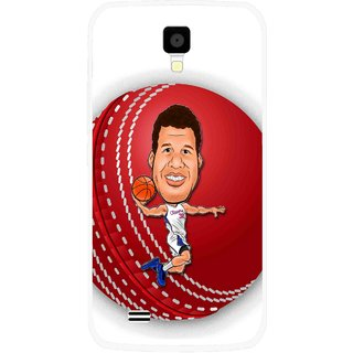 Snooky Printed Cricket Club Mobile Back Cover For Gionee Pioneer P2S - Multicolour