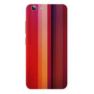 Snooky Printed Colorfull Stripes Mobile Back Cover For Vivo Y53 - Multi
