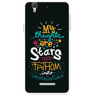 Snooky Printed Thoughts Are Stars Mobile Back Cover For Coolpad Dazen F2 - Multi
