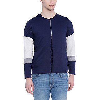 Campus Sutra Men Blue Jacket