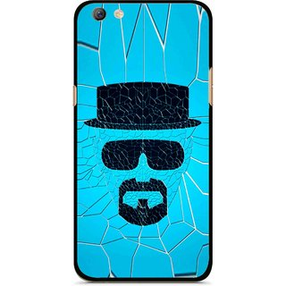Snooky Printed Beard Man Mobile Back Cover For Oppo F3 plus - Multi