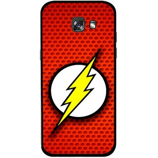 Snooky Printed Dont Touch Mobile Back Cover For Samsung Galaxy A5 (2017) - Multicolour