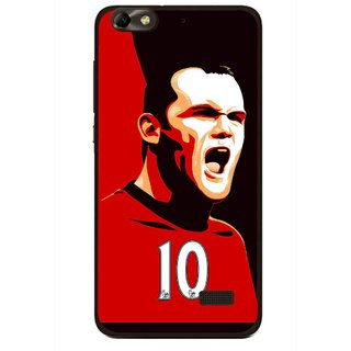 Snooky Printed Sports ManShip Mobile Back Cover For Huawei Honor 4C - Multi