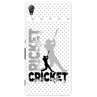 Snooky Printed Cricket Mobile Back Cover For Sony Xperia Z4 - Multi