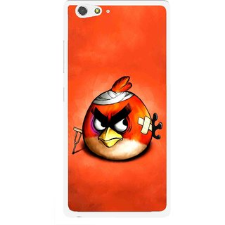 Snooky Printed Wouded Bird Mobile Back Cover For Gionee Elife S6 - Multi