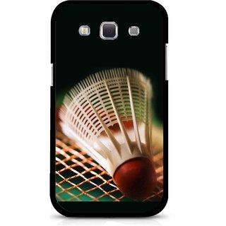 Snooky Printed Badminton Mobile Back Cover For Samsung Galaxy 8552 - Multicolour