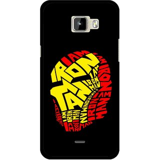 Snooky Printed I am Man Mobile Back Cover For Micromax Canvas Nitro A310 - Multicolour