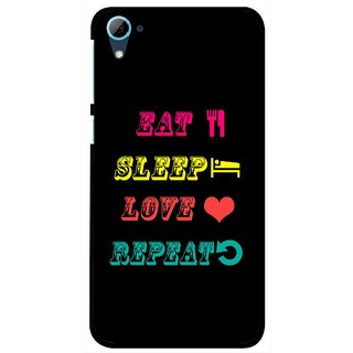 Snooky Printed LifeStyle Mobile Back Cover For HTC Desire 826 - Multi
