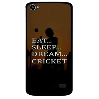 Snooky Printed All Is Cricket Mobile Back Cover For Intex Aqua Star 2 HD - Multi