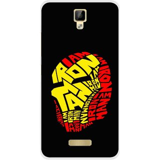 Snooky Printed I am Man Mobile Back Cover For Gionee P7 - Multicolour