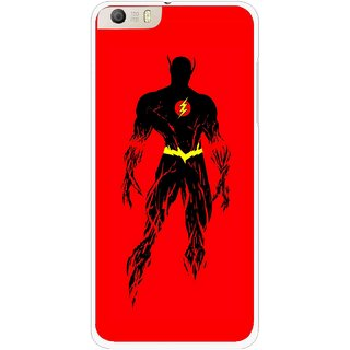 Snooky Printed Electric Man Mobile Back Cover For Micromax Canvas Knight 2 E471 - Multi